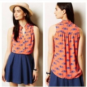 Anthropologie Maeve Coral 'Fitz' Octopus Tank